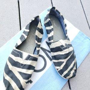 Toms Zebra Flats